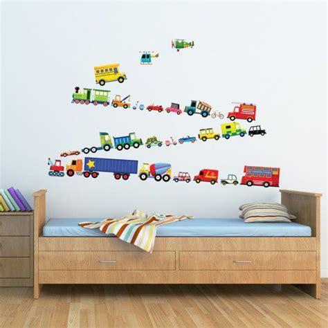 stickers chambre bebe  enfant idees pour les garcons