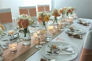 Decoration De Table Pour Mariage : d coration table mariage des exemples pour 2016 ~ Teatrodelosmanantiales.com Idées de Décoration