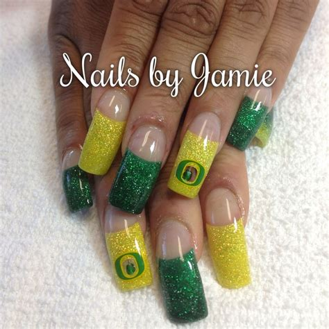 images  oregon duck nails  pinterest