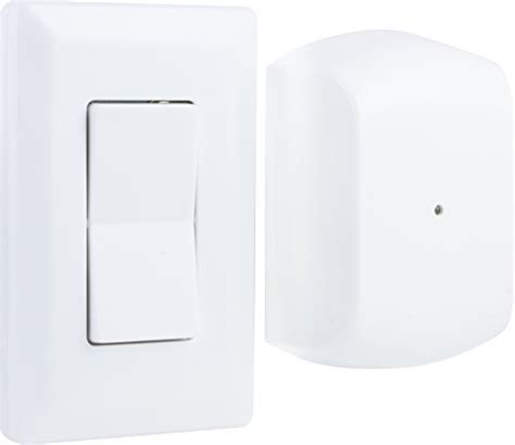 ge wireless indoor remote wall switch light control 18296 ge remote wall switch light control wireless no wiring