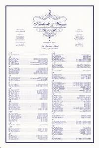 St George Seating Chart Flourish Monogram Wedding Seating Chart Vintage Monograms