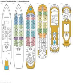 seabourn legend deck plans cabin diagrams pictures