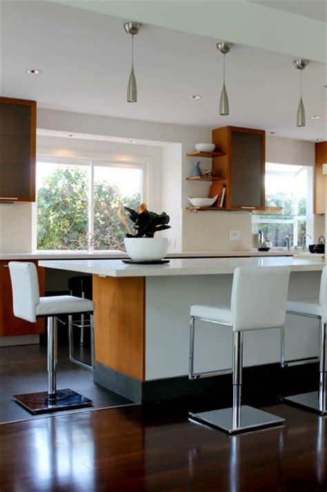 modern white leather  chrome bar stools modern