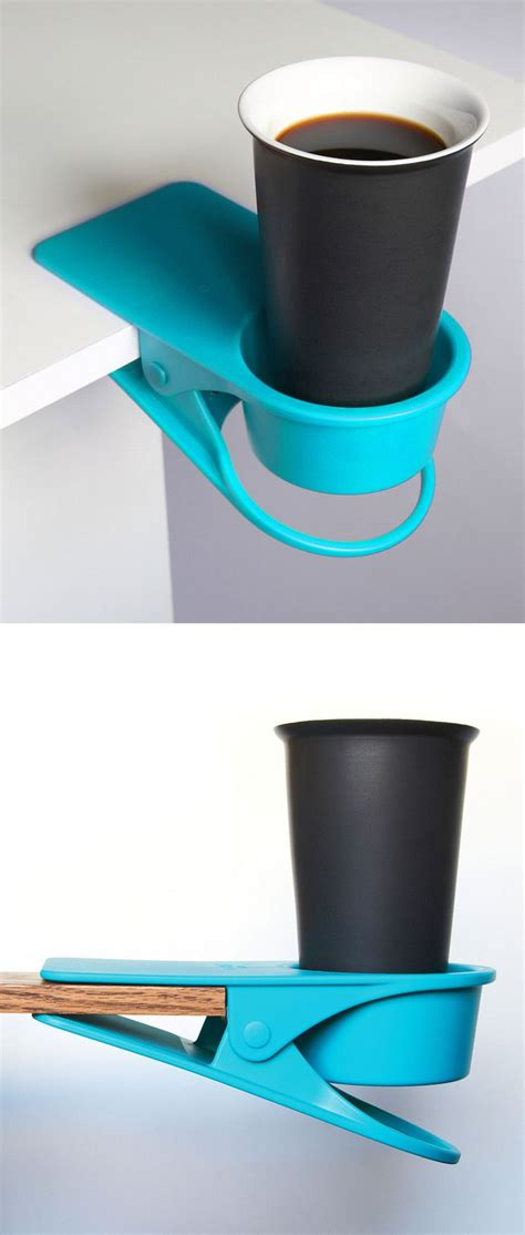 cool things for desk drink desk clip gadgets and cool stuff pinterest