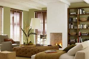 Farben Mischen Braun : w nde in sanftem gr n im wohnzimmer bild 8 living at home ~ Eleganceandgraceweddings.com Haus und Dekorationen