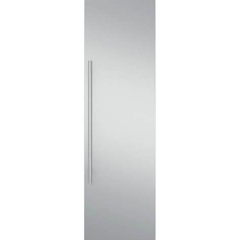 monogram  fully integrated refrigerator  freezer door panel kit stainless steel