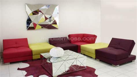 canap design modulable canapés d angle cuir mobilier cuir