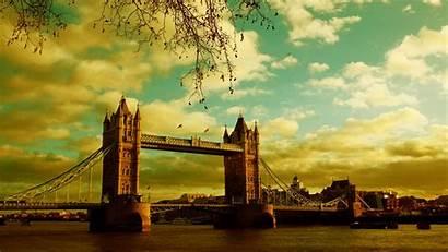 Wallpapers London Summer Bridge River Sky Wallpapertag