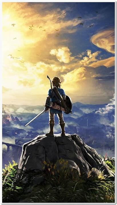 Zelda Legend Iphone Funny Wallpapers Wild Breath