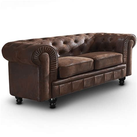 canapé chesterfield vintage canapé chesterfield 2 places vintage canapés chesterfield