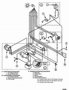 Mercruiser 4 3lx Tachometer Wiring
