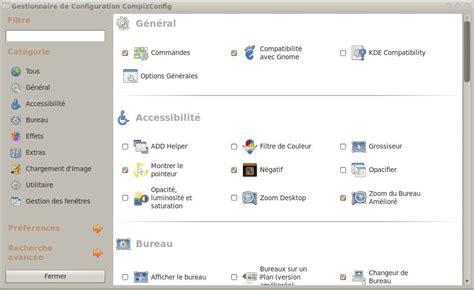 raccourci bureau ubuntu des effets graphiques de folie pour votre bureau ubuntu