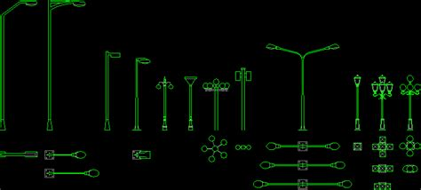 lighting  dwg plan  autocad designs cad