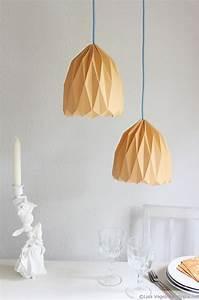 Hängelampe Selber Machen : origami lampe handmade kultur ~ Frokenaadalensverden.com Haus und Dekorationen
