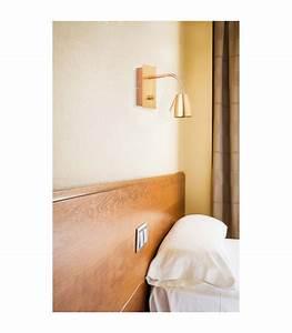 Liseuse De Lit : applique murale liseuse pour lit en m tal dor ~ Teatrodelosmanantiales.com Idées de Décoration