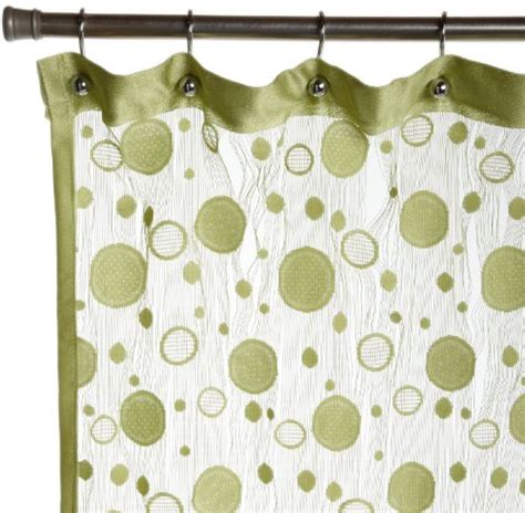 best lime green shower curtain fabric or plastic shower