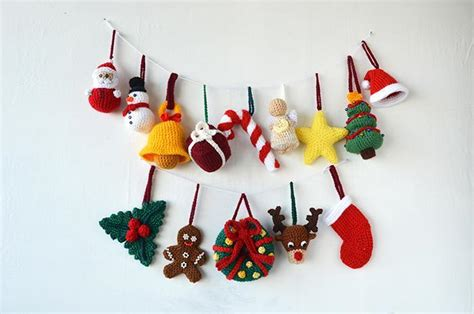 decor to turn your home into a crochet christmas wonderland