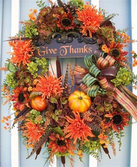thanksgiving wreaths ideas thanksgiving themed wreath ideas holidays thanksgiving pinterest