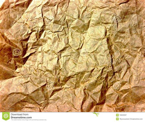 wrinkled golden paper texture stock image image