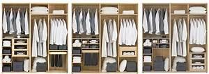 Prix Dressing Sur Mesure : dressing sur mesure sans porte coulissante ou battante ~ Premium-room.com Idées de Décoration