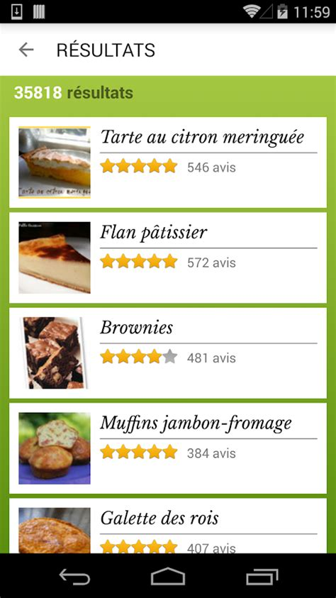 id馥 recette cuisine cuisine 45 000 recettes android apps on play