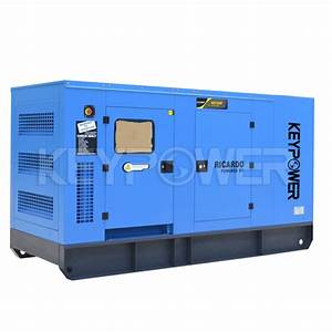 40kva Silent Electric Power Generator Set Heavy Duty