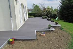nivremcom monter une terrasse en bois composite With monter une terrasse en composite