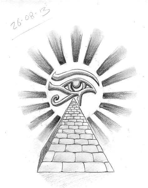 Tattoo Sketch A Day: Egyptian August 22nd - 31st