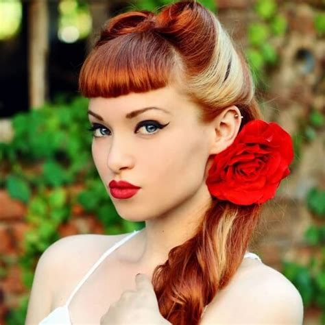 50s hair up styles 50s hairstyles for hair hairstyles 9040