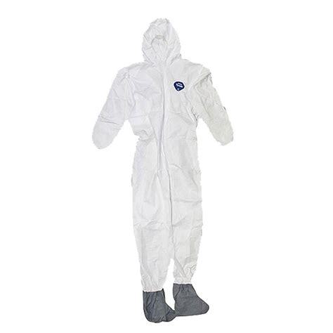 tyvek disposable coverall  hood boots