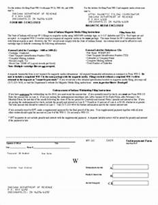 Form WH-1U Underpayment of Indiana Withholding Filing ...