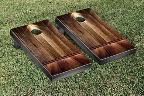 Country Themed Kitchen Ideas - victory tailgate wooden spotlight themed cornhole game set reviews wayfair
