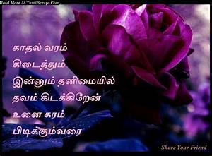 Very Sad And Lonely Love Quotes In Tamil - TamilScraps.com