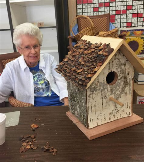 small woodworking projects  local senior center