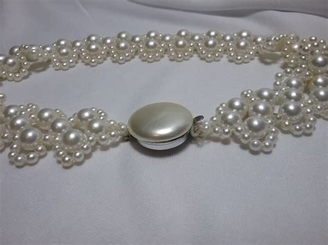 japan deco pearl necklace