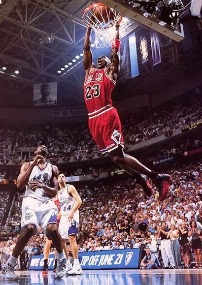 Jordan Michael Bulls Chicago Dunk Mj Slam