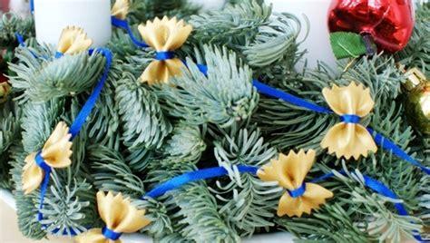 homemade christmas decorations   pasta