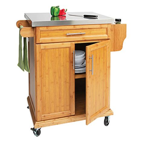 kitchen islands big lots small bamboo stainless steel top kitchen cart big lots