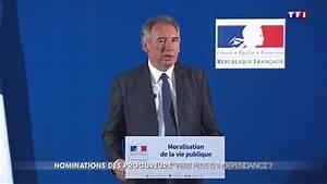 la nouvelle loi de francois bayrou pour garantir l With indépendance du parquet