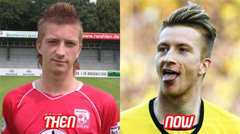 marco reus transformation    hairstyle