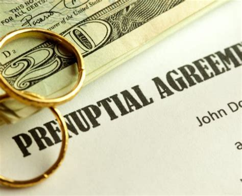 laws governing  jersey prenuptial agreements