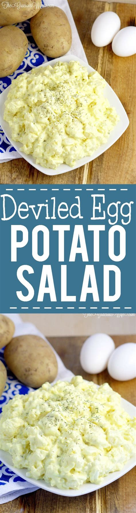 deviled egg potato salad recipe deviled egg potato salad recipe the gracious wife