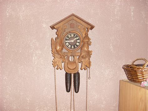 1969 Regula West Germany Cuckoo Clock Antique Oak Lawyer S Desk Metal Paint Effects Ac Vent Covers Door Knockers Australia French Dresser Uk Clocks Wall Latches And Hinges Small Tables