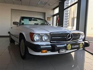 Mercedes De Occasion : mercedes classe sl r107 560 sl cabriolet blanc occasion 45 000 198 000 km vente de ~ Gottalentnigeria.com Avis de Voitures