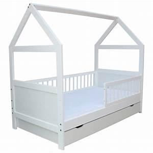 Kinderbett 70 X 160 : kinderbett juniorbett haus 140 x 70 cm oder 160 x 70 cm in 2 farben ebay ~ Bigdaddyawards.com Haus und Dekorationen