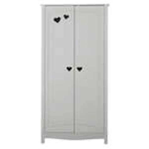 armoire chambre gar輟n armoire 3 portes 2 tiroirs saturne coloris blanc vente de armoire conforama
