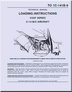 Lockheed C  C Aircraft Loading Instructions Manual