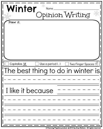 january kindergarten worksheets winter kindergarten