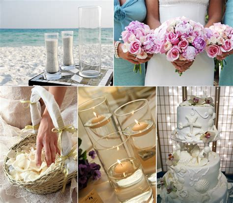 Beach Themed Wedding Decorations  Romantic Decoration