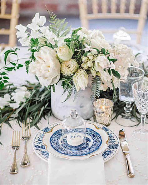 white wedding centerpieces martha stewart weddings